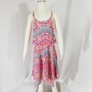 Lilt Girl's Dress Tie Dye print